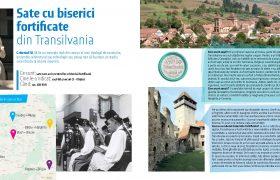 sate cu biserici fortificate transilvania
