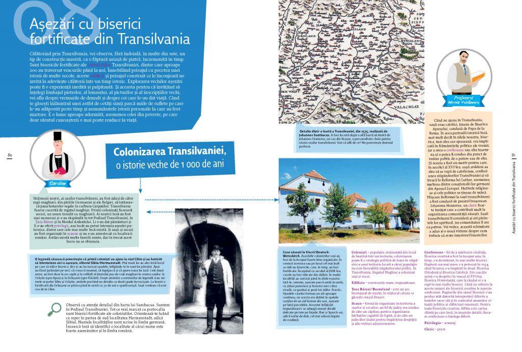 sate cu biserici fortificate din transilvania